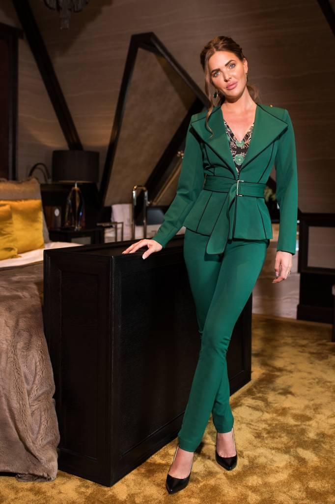Given GW181401 VEERLE PANTS EMERALD GIVEN