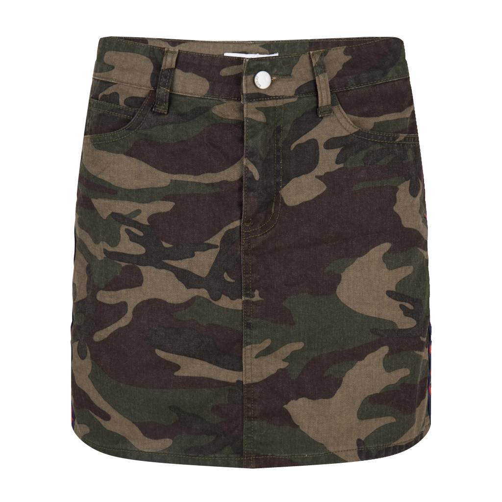 Maison Runway / Delousion SKIRT JERSEY MR613 CAMOUFLAGE ARMY MAISON RUNWAY SALE