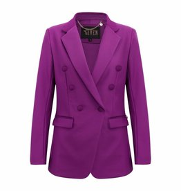 Given / Heav'n GW181301 FEMKE BLAZER GRAPE GIVEN