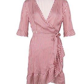 Maison Runway / Delousion SALE DL1022 | Dress Britney - Red Stripe DELOUSION