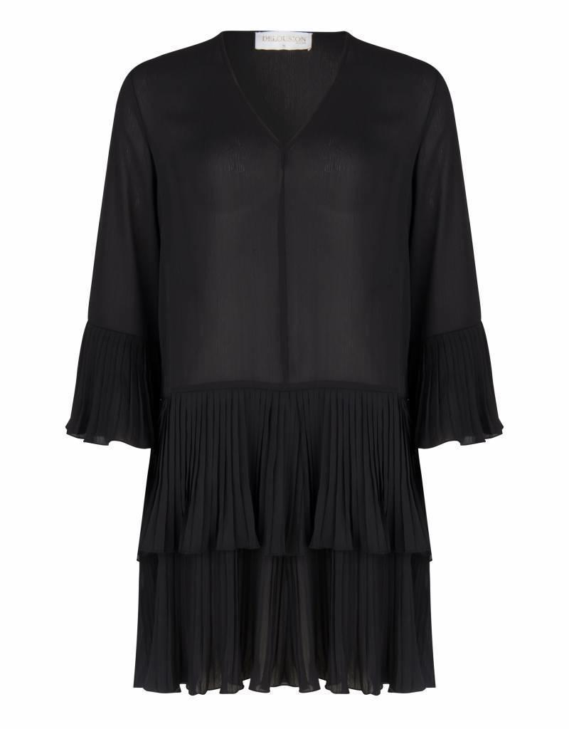 Maison Runway / Delousion DRESS NINO BLACK DELOUSION