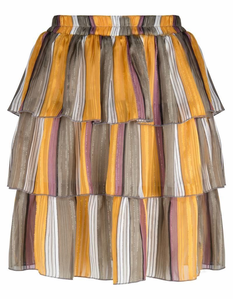 Maison Runway / Delousion skirt Bailey yellow stripes Delousion SALE