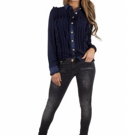 Royal Temptation BLOUSE NOELLA RYL 423 BLAUW