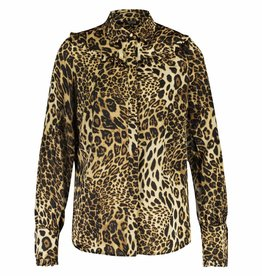 Given / Heav'n GW181110 CISKA BLOUSE LEOPARD HONEY GIVEN