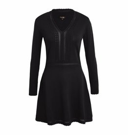 Given / Heav'n GW181601 BIRGIT DRESS GIVEN BLACK