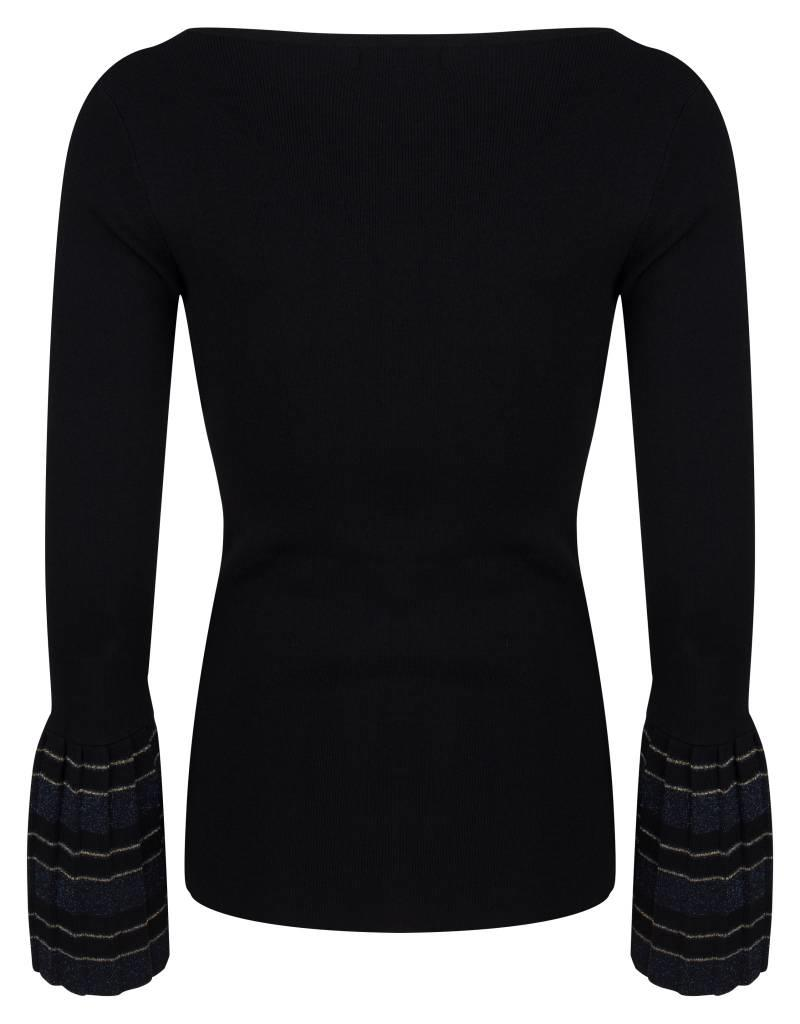 Jacky luxury TOP KNIT FLARED SLEEVES JLFF18006 JACKY LUXURY