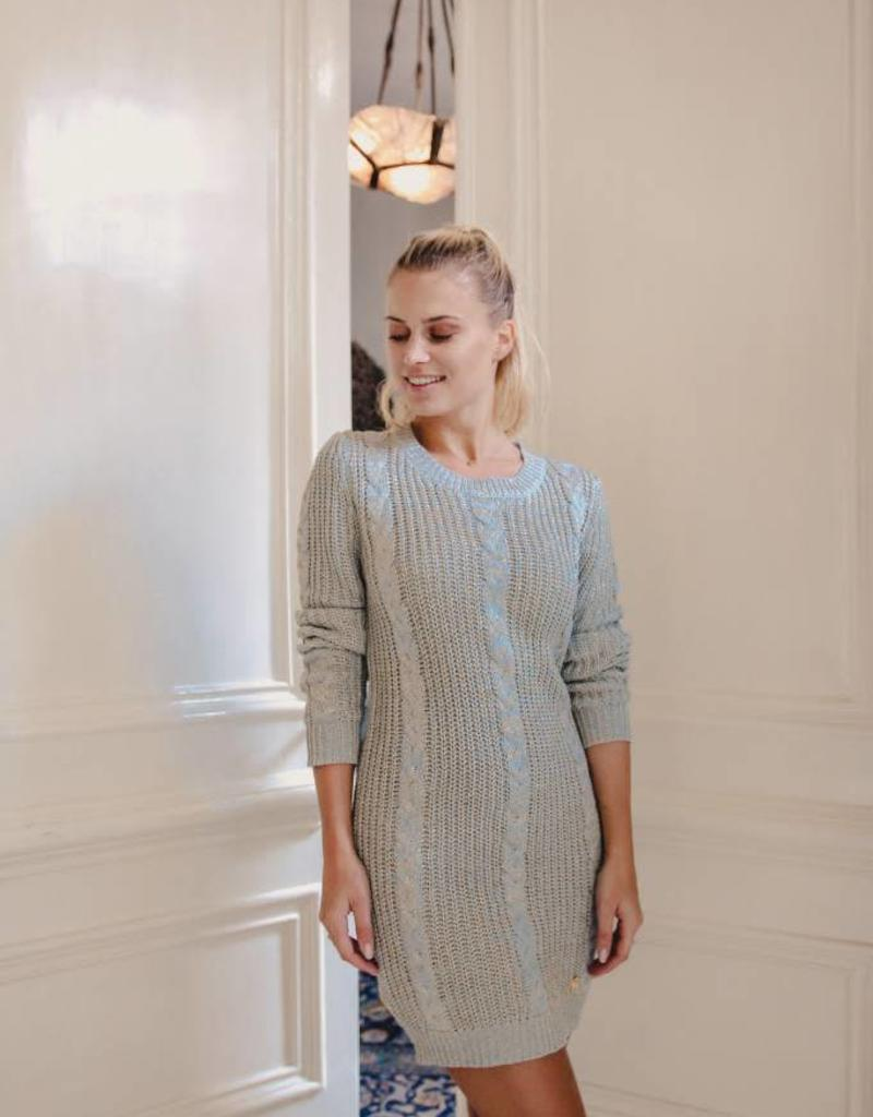 Maison Runway / Delousion Dress nona grey gold