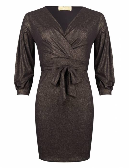 Maison Runway / Delousion Dress Pine black