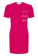 Jacky luxury LOVE ALWAYS WINS DRESS JLSS19038 HOT PINK