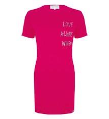LOVE ALWAYS WINS DRESS JLSS19038 HOT PINK