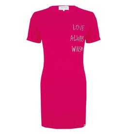 Jacky luxury LOVE ALWAYS WINS DRESS JLSS19038 HOT PINK