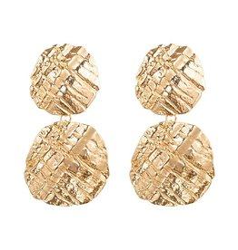 Sieraden by Ladybugs Earrings Turtle Rounds