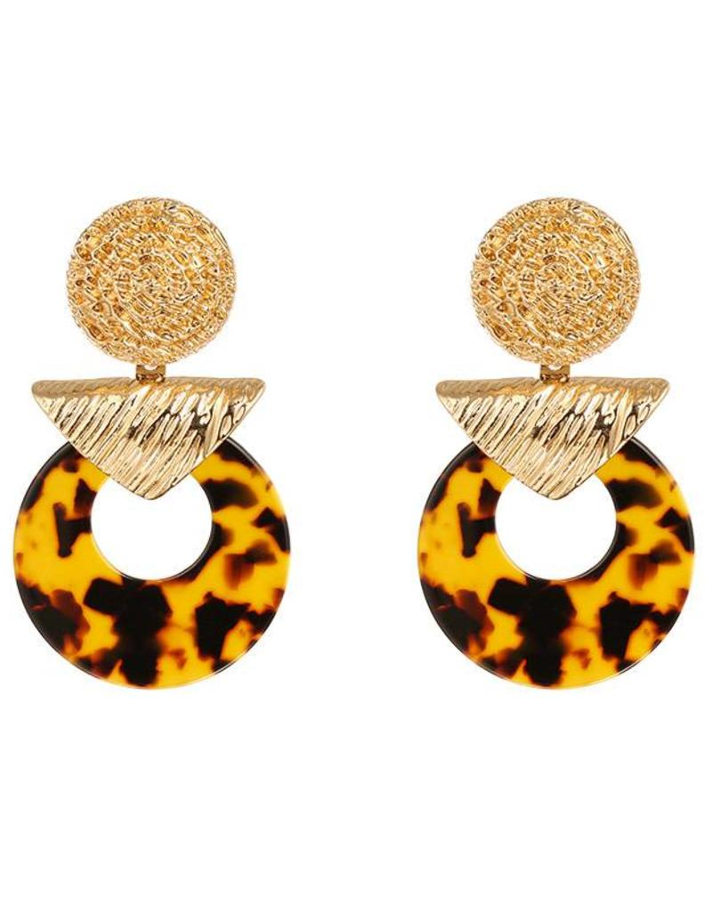 Sieraden by Ladybugs Earrings Exotic Contrast