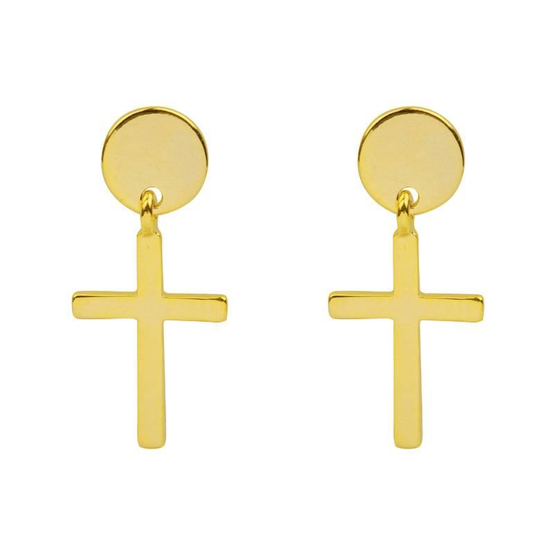 Sieraden by Ladybugs Oorbellen Mini Crosses