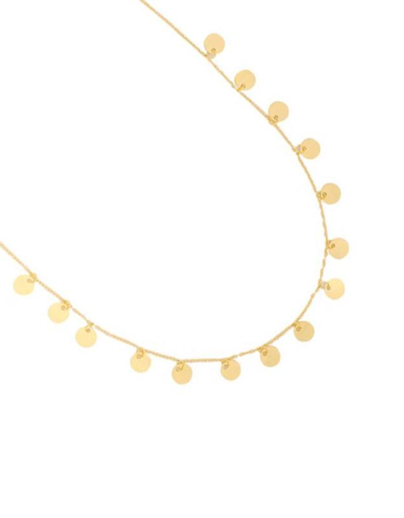 Sieraden by Ladybugs Ketting A lot of circles stainless steel