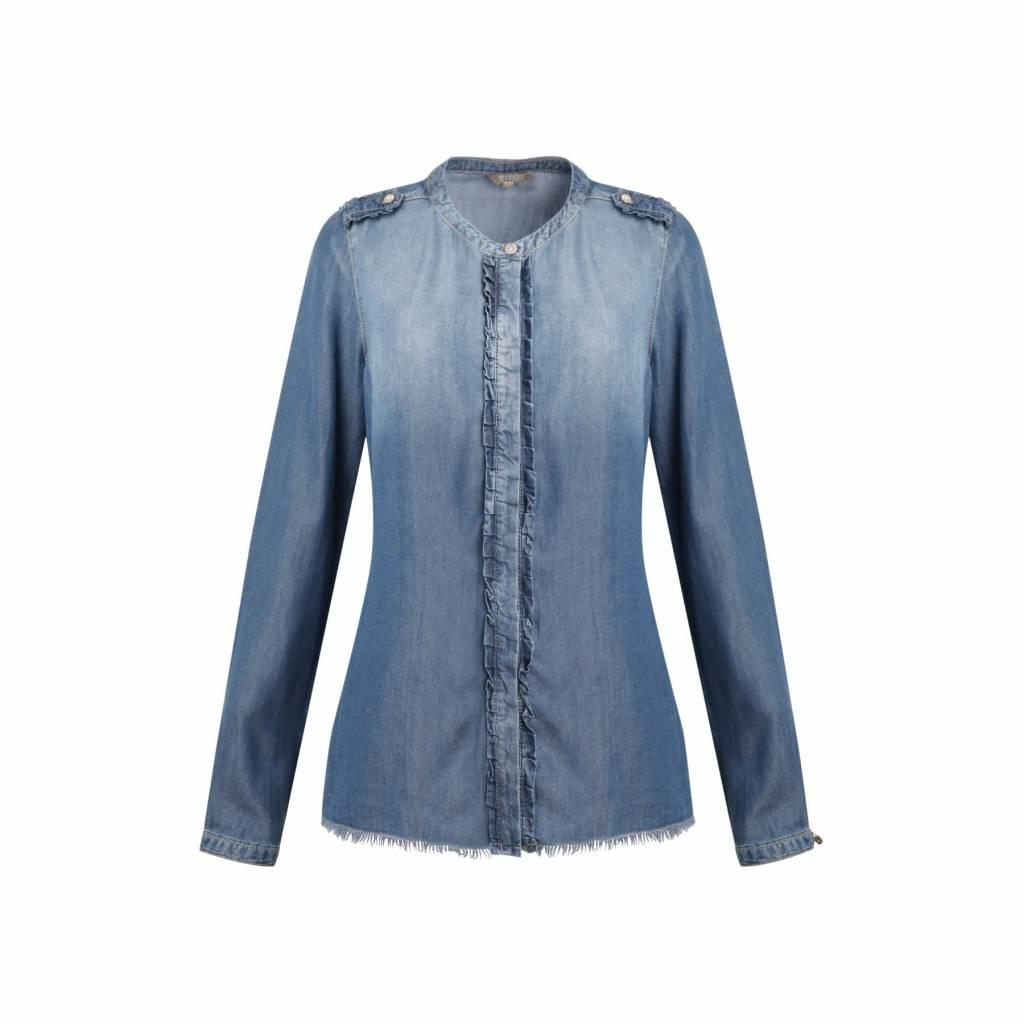 Given Rosali blouse GW119101 blue