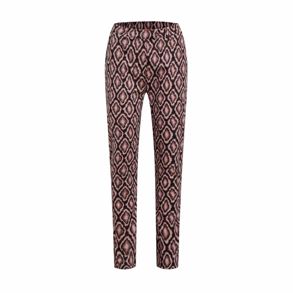 Given Jolien pants GW119401 beige snake