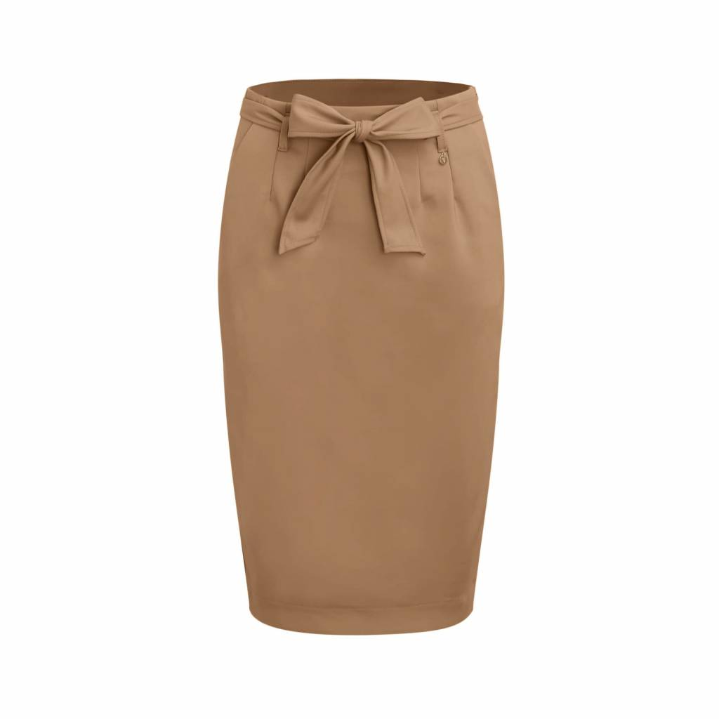 Given Nathalie skirt GW119502 beige/congac