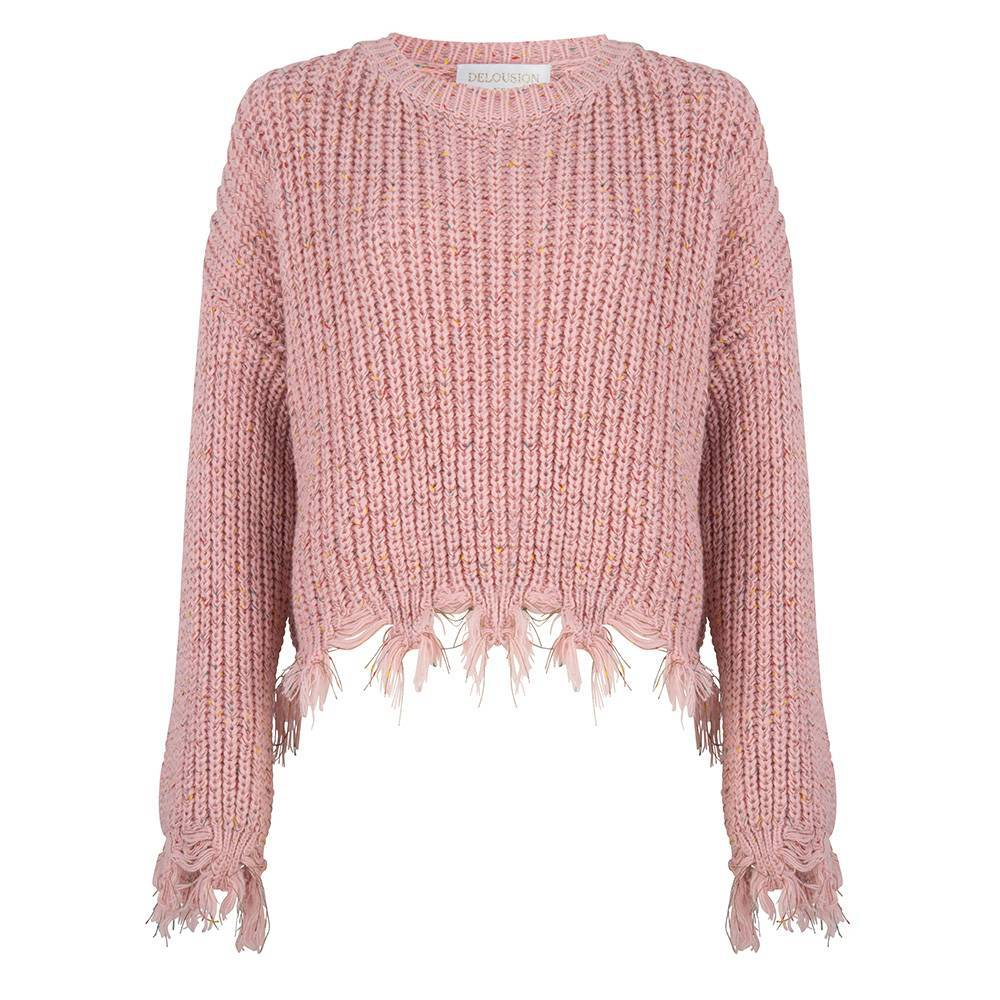 Maison Runway / Delousion Sweater Dini light coral