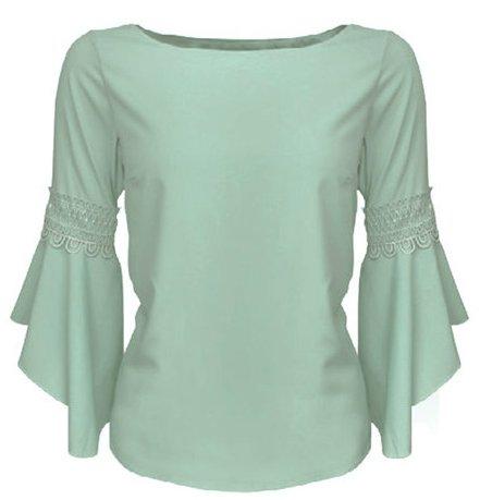 Lorene Blouse Glamorous Green