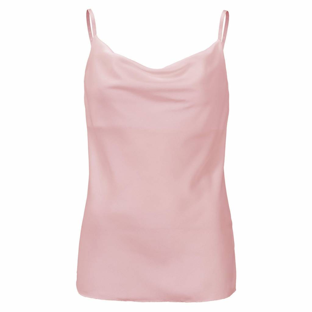 Waterfall top roze one size