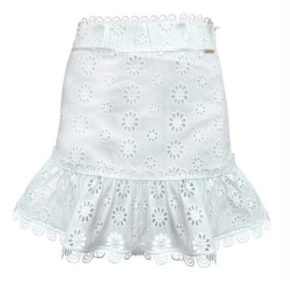 Mirte skirt Glamorous white