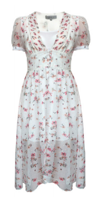 Glamorous Jalena dress Glamorous white