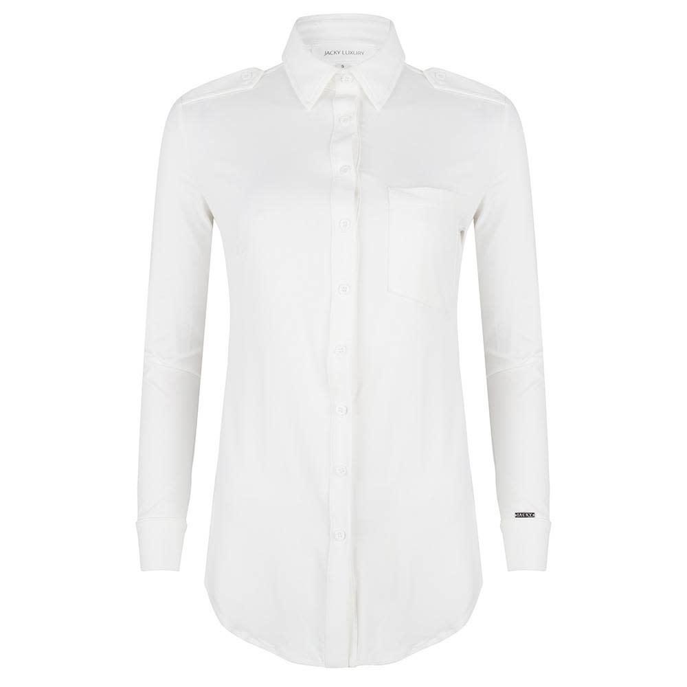 Jacky luxury BLOUSE TRAVELLER JLSS19047A White