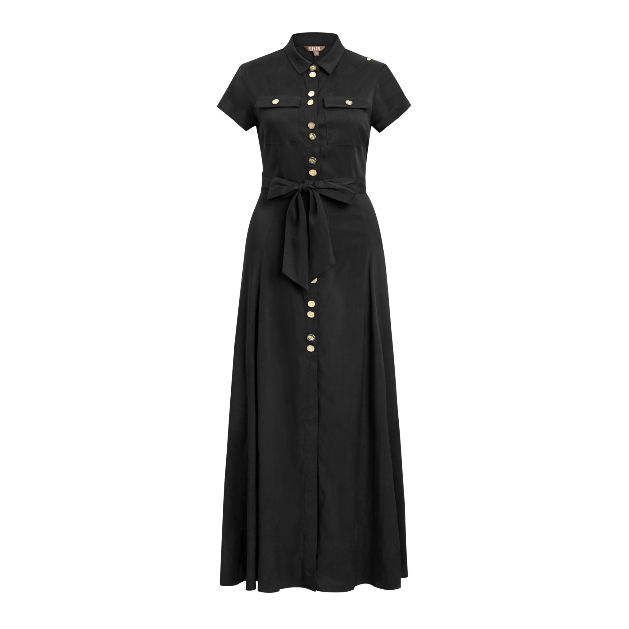 Given Tazz maxidress black