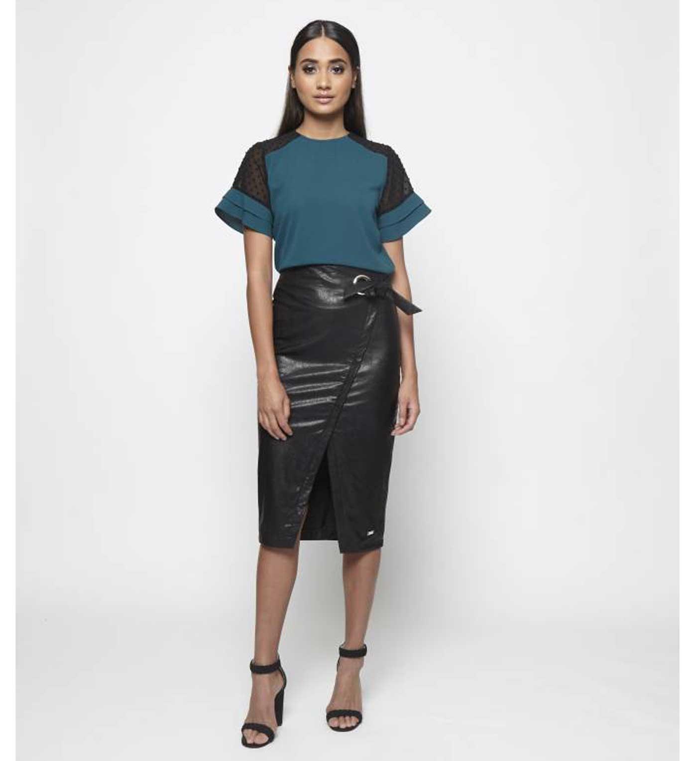 Lofty Manner Skirt Gladys black Lofty Manner