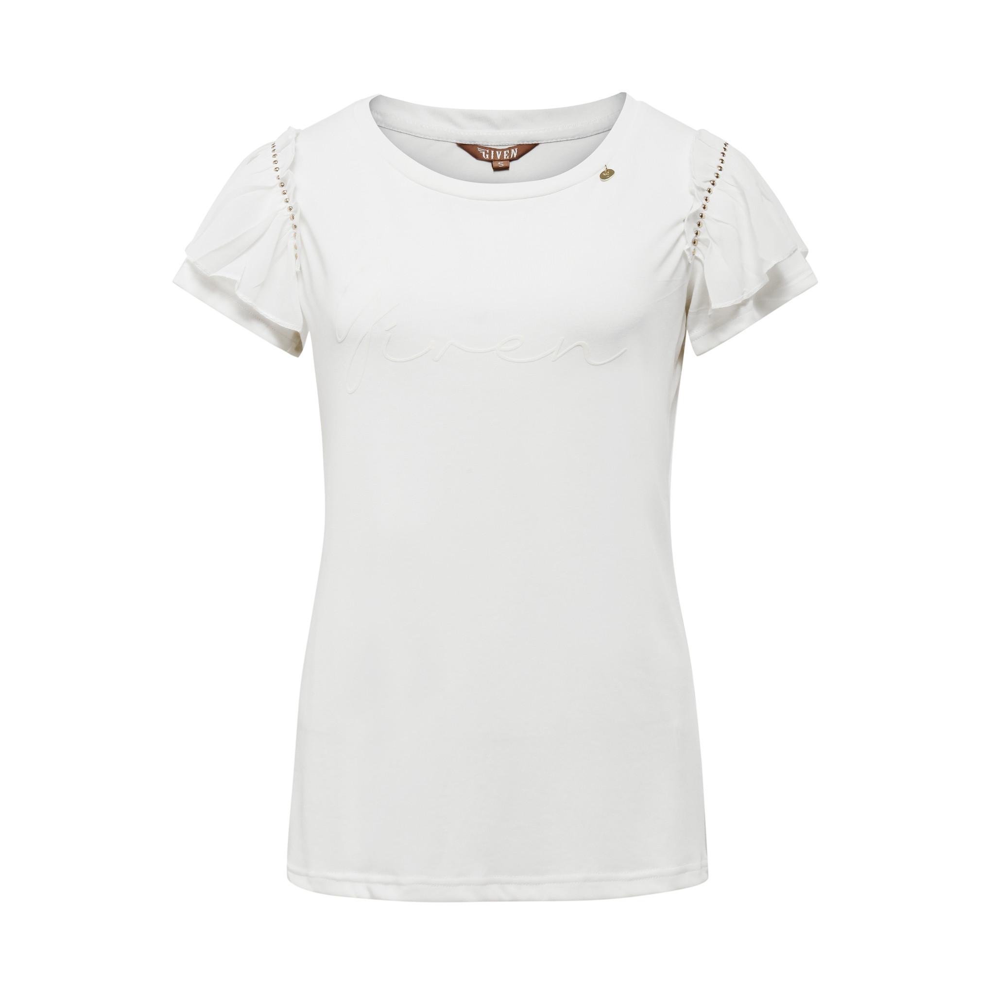 Given T-shirt Given Maris creme GW129107