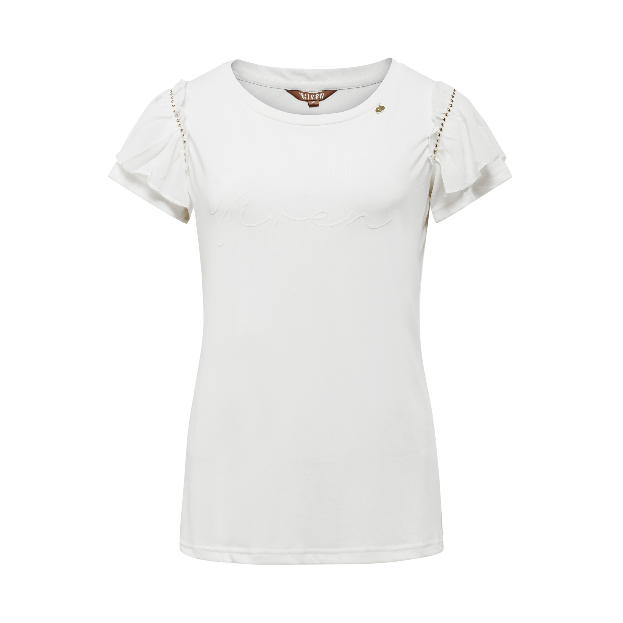 T-shirt Given Maris creme GW129107