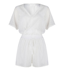 JUMPSUIT SHORT JLHS19025 off white
