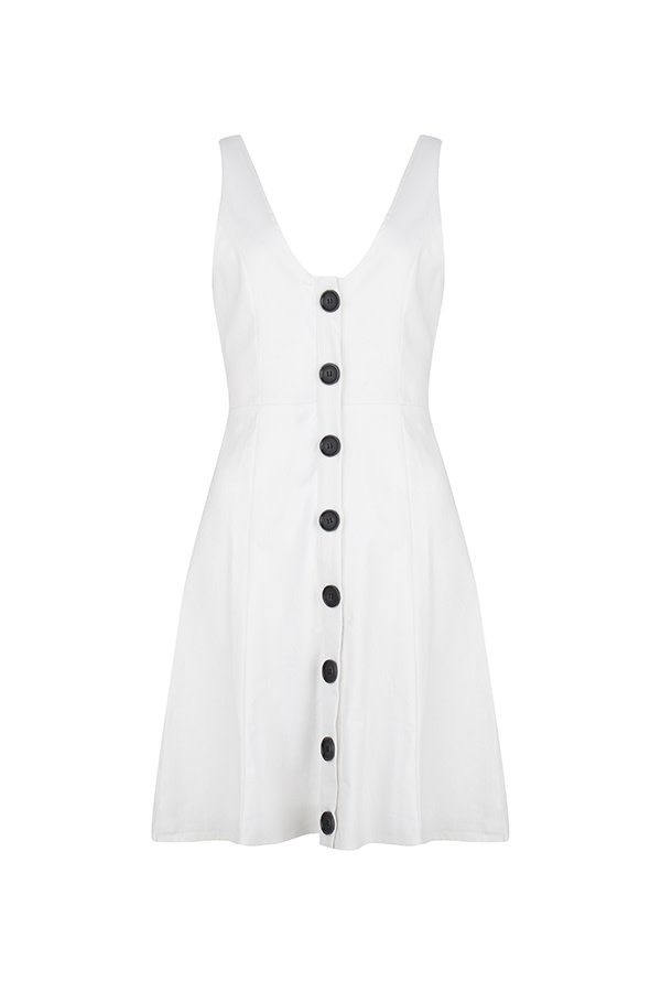 Lofty Manner Dress Aivy white MB25