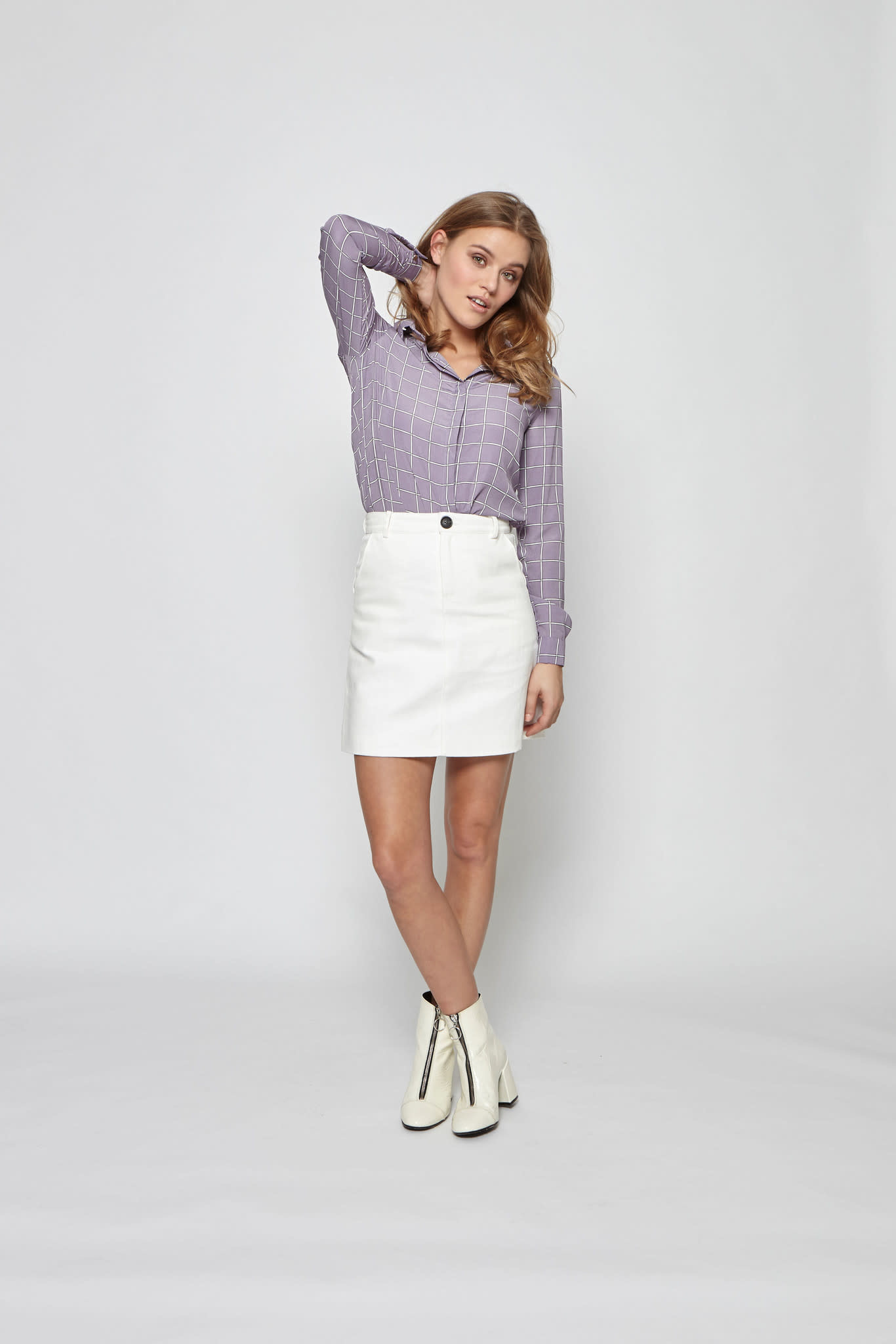 Skirt Nyna white MB38