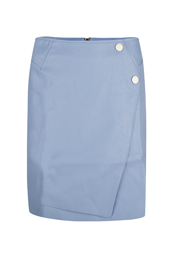 Lofty Manner Skirt Lindey leather MB42 BLUE