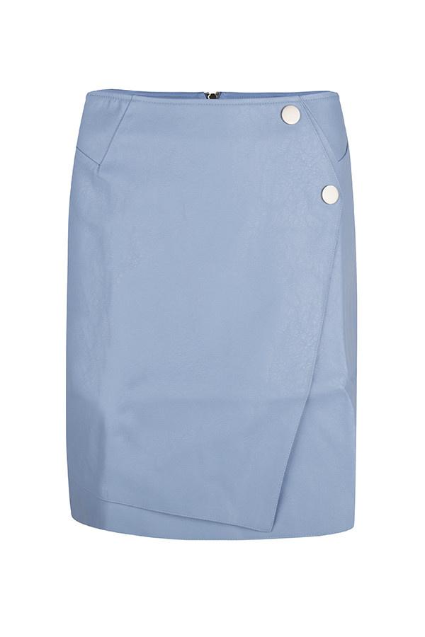 Skirt Lindey leather MB42 BLUE
