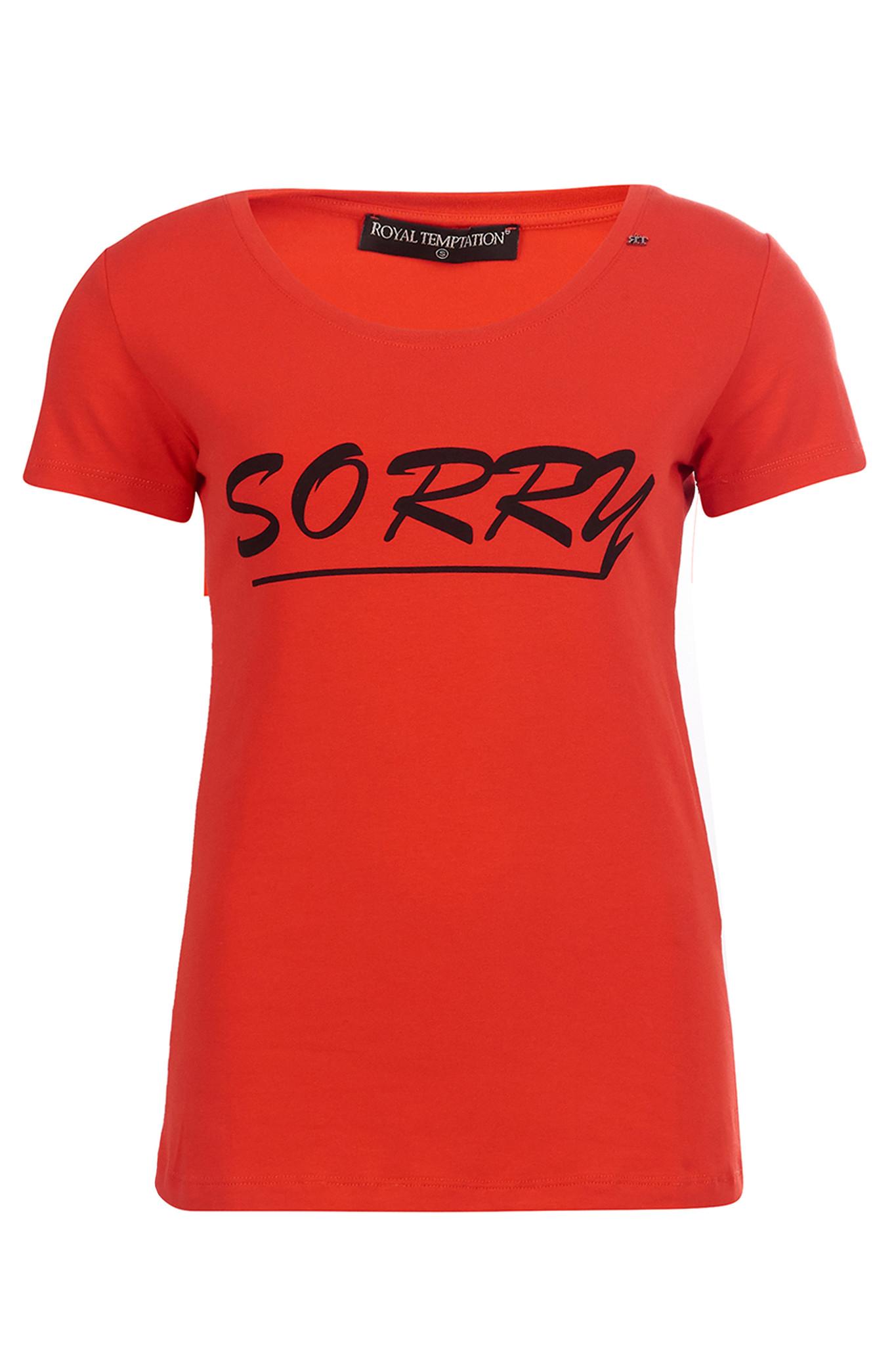 Royal Temptation Shirt sorry nog sorry rood/oranje RYL-573