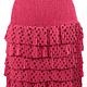 Skirt Azzura pink RYL444