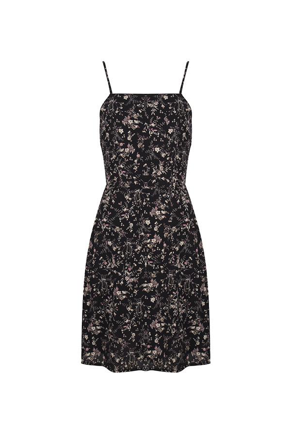 Lofty Manner Dress nicol MC06 black