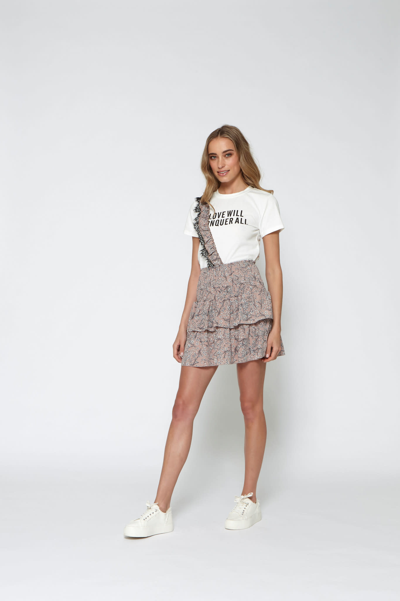Lofty Manner Skirt pascalle MC32 pink