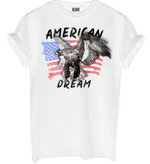 American dream shirt white