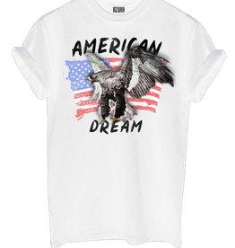 Azuka American dream shirt white