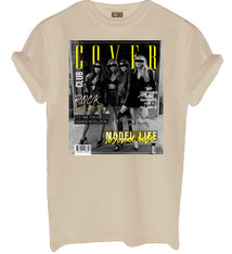 Cover club shirt nude