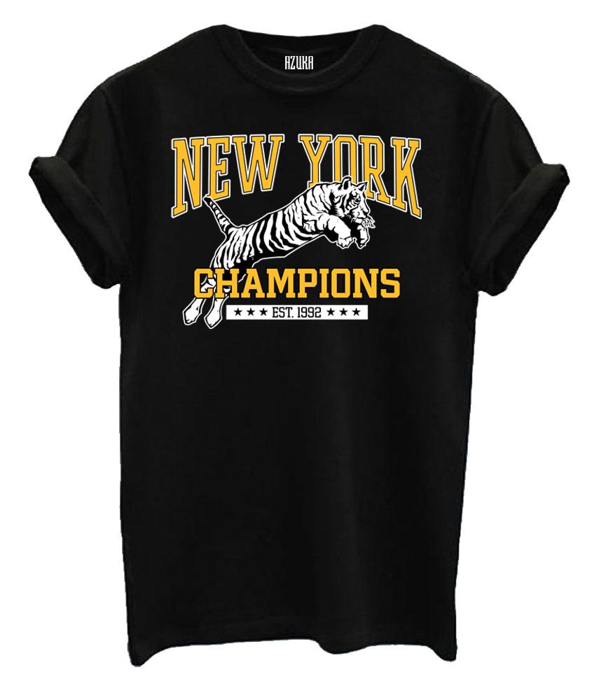 New york champions shirt black