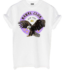 Rebel club shirt white