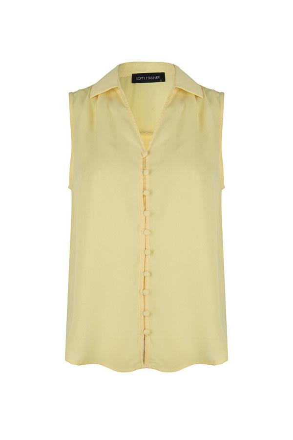 Lofty Manner MC28 Top leeloo Yellow