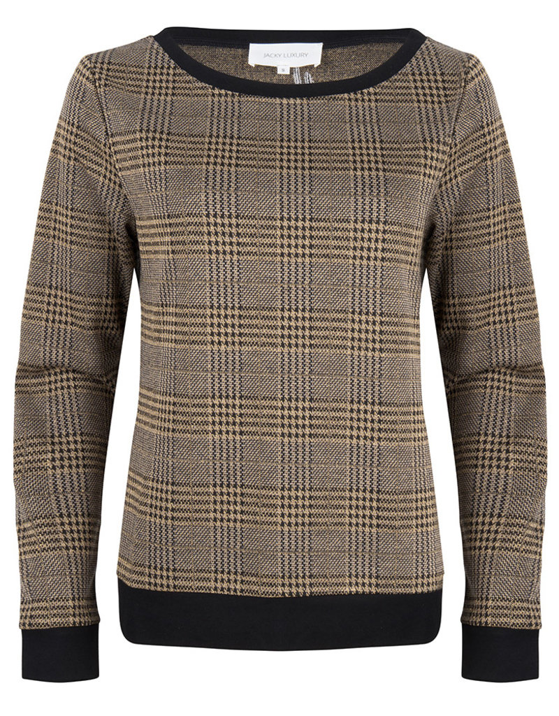 JLFW19048 Pullover check print