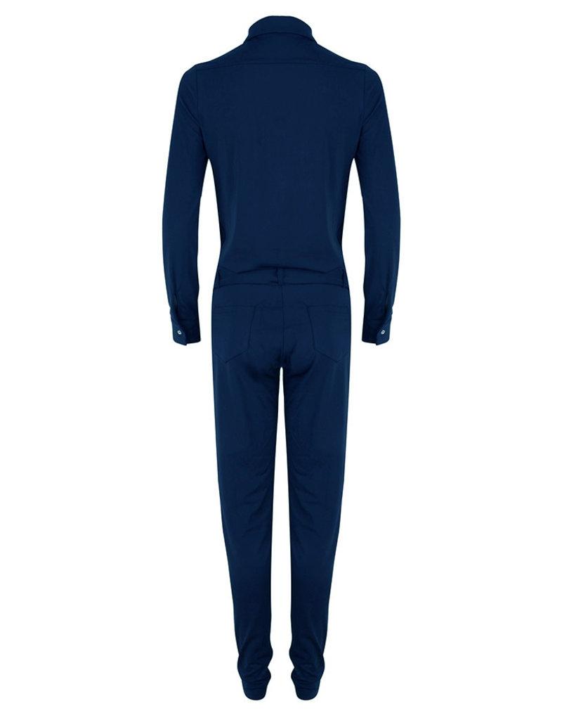 Jacky luxury JLFW19132 Traveller jumpsuit navy