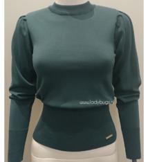Linsey knit Glamorous 8530 green - petrol